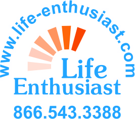 Life Enthusiast Label-outline