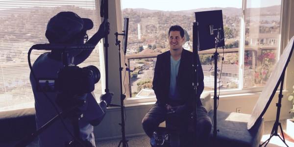 Nathan Crane Filming SF